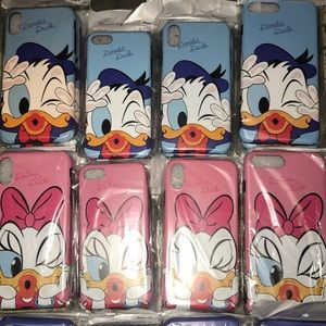 DONALD and DAISY iPhone cases